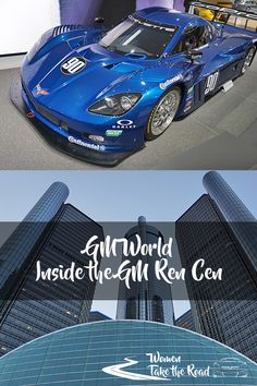 GM World GM Ren Cen Detroit - Entertainment, Cars and more inside the headquarters!