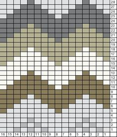 Tricksy Knitter Charts: Epinette Chart Greys