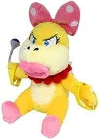 *Wendy Koopa Plush *Stand 7-Inches tall *Officially licensed product *Collect them all *Brand new in manufacturer packaging