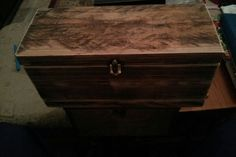 Wooden box Wood Boxes, Hope Chest, Storage Chest, Furniture, Home Decor, Wood Crates, Decoration Home, Room Decor, Home Furnishings