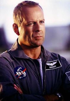 Bruce Willis...people sittin around just thinkin shit up...love it