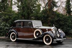 Hooper Rolls-Royce 25/30 HP Sports Saloon 1938