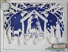 Картина панно рисунок Новый год Рождество Аппликация Вырезание Рождественское панно Бумага Клей фото 1