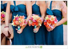 teal-and-orange-color-wedding