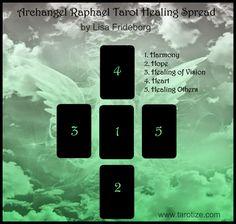 Tarotize - Holistic Tarot: Archangel Raphael Tarot Healing Spread