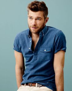 J.Crew indigo popover. I must have this next summer.