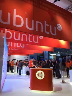 Ubuntu at Mobile World Congress 2015 Barcelona Hall Mobile World Congress, Linux, Barcelona, Barcelona Spain, Linux Kernel