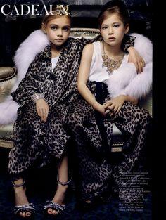 Cadeux, Vogue Paris Dec'10 - Jan '11,   Fantastic Editorial Satire on Christmas Gifts.  Photographer Sharif Hamza