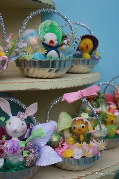 Love these little baskets