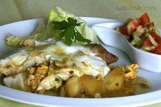 Palačinky z ovesných vloček recept - Labužník.cz Potato Salad, Potatoes, Chicken, Meat, Ethnic Recipes, Food, Potato, Essen, Meals