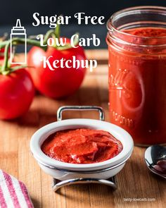 Healthy Low Carb Ketchup!