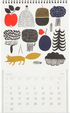 marimekko 2013 calendar