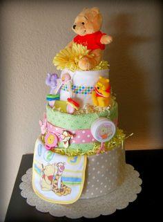 Winnie the Pooh Food Decorations | Disney Winnie the Pooh Diaper Cake
