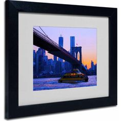 Trademark Fine Art Fall Comes to Downer Canvas Art by CATeyes, Black Frame, Size: 16 x 20, Multicolor