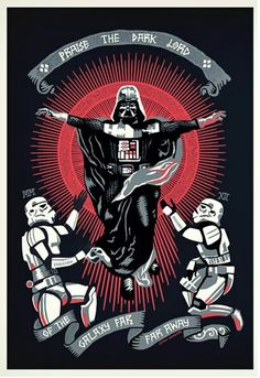 That moment you realize Darth Vader is God.   Star Wars/Pantocrator/Parody/Dark Lord