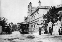 Glorieta cuartel de artilleria 1903
