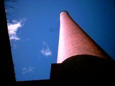 Abandoned factory in Okmulgee, Oklahoma