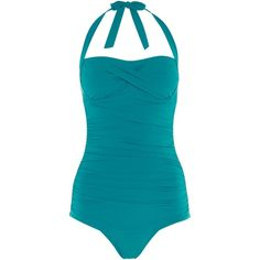 Speedo Crystalsun one piece swimsuit ($95) ❤ liked on Polyvore featuring swimwear, one-piece swimsuits, blue, women, swimsuit swimwear, bathing suit swimwear, speedo bathing suits, swim suits and blue swim suit