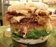 Vegan Eggplant Crunchburger