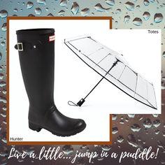 Stylish Raincoats, Hunter Boots, Rubber Rain Boots, Shoes, Fashion, Moda, Zapatos, Shoes Outlet, Fashion Styles