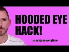 Hooded Eye Makeup – Great Make Up Ideas Makeup Tricks, Eye Tricks, Best Makeup Tips, Makeup Ideas, Makeup 101, Makeup Tutorials, Makeup Brushes, Makeup Products, How To Do Contouring
