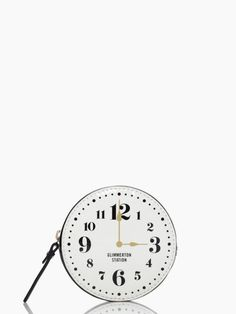 all aboard clock coin purse. I am always getting change back, so might as well get an adorb coin case to hold them so when you need to pay a parking meter they are within close reach.