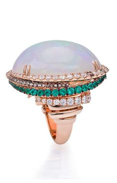 Cashmere collection ring by Valentina Callegher Fine Italian Jewellery