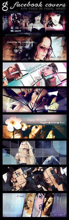 8 Facebook Canvas Templates — Photoshop PSD #psd download #photoshop template • Download here → https://graphicriver.net/item/8-facebook-canvas-templates/5177445?ref=pxcr