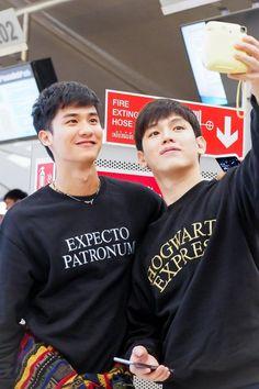 Thai Drama, Asian Actors, Gay Couple, Insight, Thailand, Shit Happens, Couples, Boys, Dark Blue
