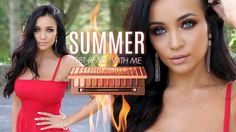 Summer GRWM : NAKED HEAT Palette + OUTFIT! - YouTube