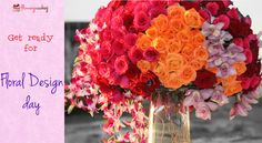 #floral design day Guys, why not arrange an #impressive bouquet for your leading #lady..