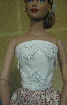 JanelWasHere Barbie Bellybutton Sewing Instructions