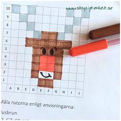 Color By Numbers, Algebra, Animal Crossing, Pixel Art, Christmas Diy, Bullet Journal, Teaching, Education, Montessori