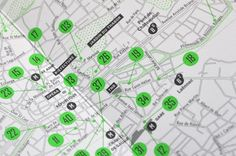 Beautiful contemporary map design   Print design