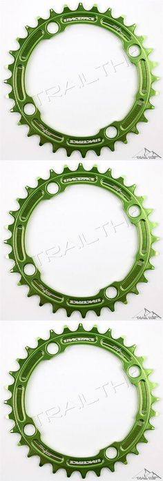 Chainrings and BMX Sprockets 177811: Raceface Narrow-Wide 32T X 104Mm Single Chainring 9/10/11-Speed Ring Mtb - Green BUY IT NOW ONLY: $38.24