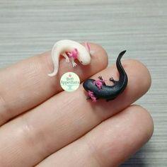 Tiny Axolotls by Bon-AppetEats