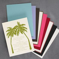 Island Celebration - Invitation 40% Off http://mediaplus.carlsoncraft.com/Parties--Celebrations/Theme-Parties/NA-NA207-Island-Celebration--Invitation.pro#imageSelect=110323 Set the scene for your party with this palm tree invitation.