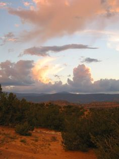view toward Abiquiu, New Mexico