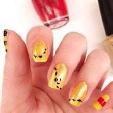 Nail art Winnie l'Ourson
