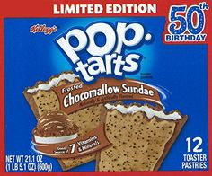 Keloggs Pop Tarts, Limited Edition, Chocomallow Sundae, 12 Pastries, 21.1 oz (Pack of 2) - http://sleepychef.com/keloggs-pop-tarts-limited-edition-chocomallow-sundae-12-pastries-21-1-oz-pack-of-2/