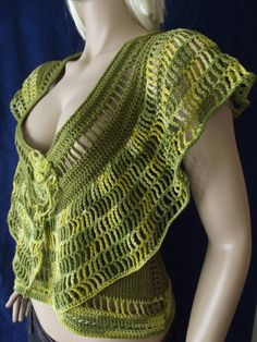 Cleopatra - Crochet Sweater