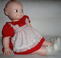 vintage+kewpie+dolls | Vintage Cameo Kewpie Doll 1966