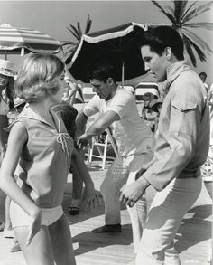 Still of Elvis Presley and Shelley Fabares in Girl Happy