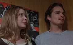 Before Trilogy, Ethan Hawke, Dead Poets Society, Before Sunrise, Film Stills, His Eyes, Movies And Tv Shows, Pop Culture, Movie Tv