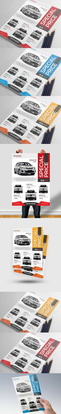 Rent A Car Flyer Template Cars, Flyers and Flyer template - car for sale template