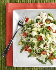 Asparagus, Green Bean, and Hearts of Palm Salad Recipe