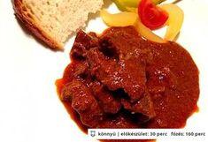 Birkapörkölt Minion, Bacon, Cooking Recipes, Beef, Dishes, Breakfast, Foods, Drinks, Lamb