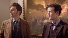 David Tennant and Matt Smith as the Doctors - Doctor Who's 50th Anniversary - Day of the Doctor