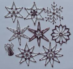 Hejda-hand work - Gallery - Beads - Christmas decorations - Christmas decorations - Beads