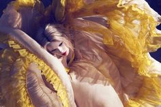 Colourful Fashion Photography by Camilla Akrans. Pinned by Modeconnect.com, the creative community for fashion education.